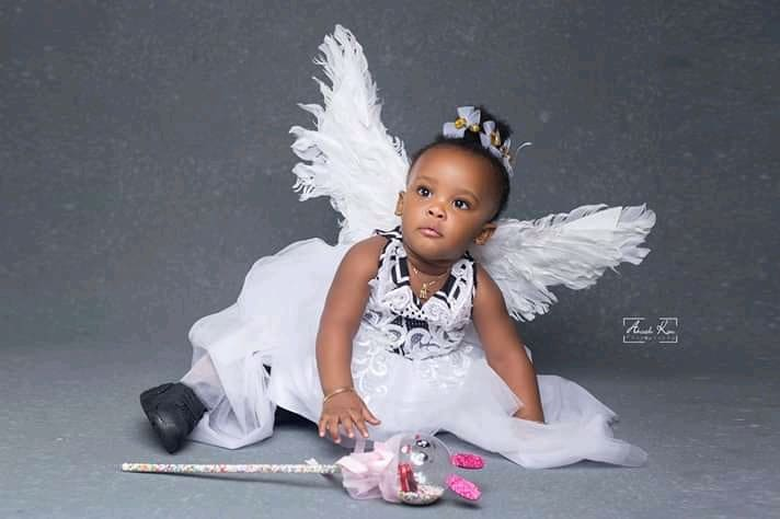 Photos of Nana Ama McBrown Daughter, Baby Maxin