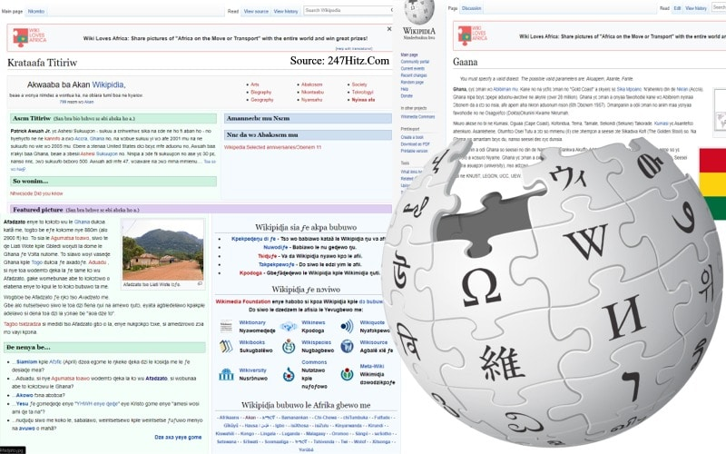Wikipedia Adds Some Ghanaian Dialects Their List of African Languages