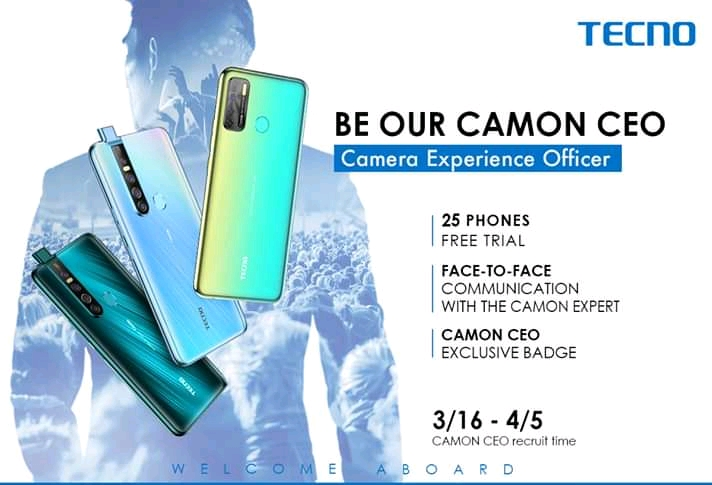 TECNO Mobile Ghana 25 CAMON CEO