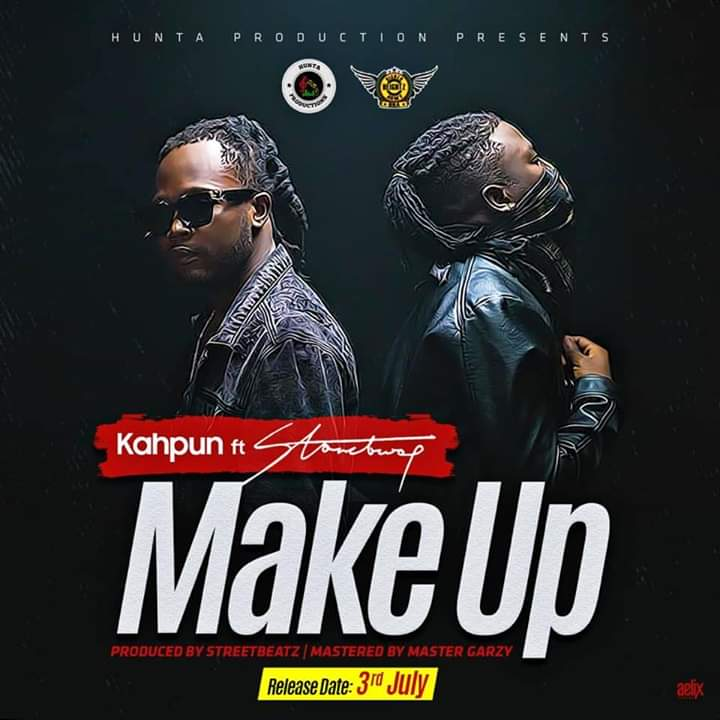 """Kahpun Recruits Stonebwoy On A Dancehall Joint """"Make Up"""""""