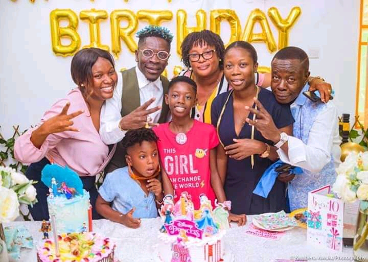 Shatta Wale and Daughter Birthday