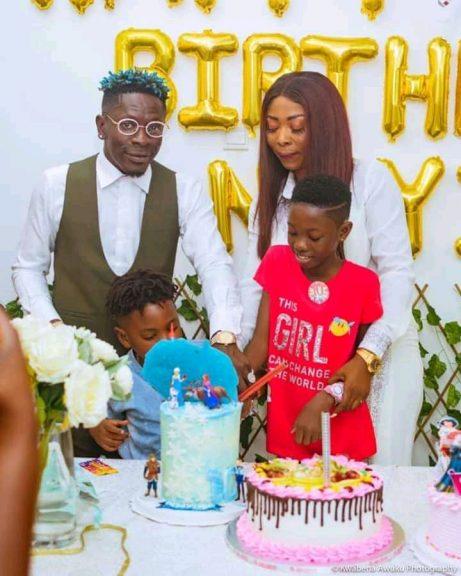 photos of shatta wale daughter birthday