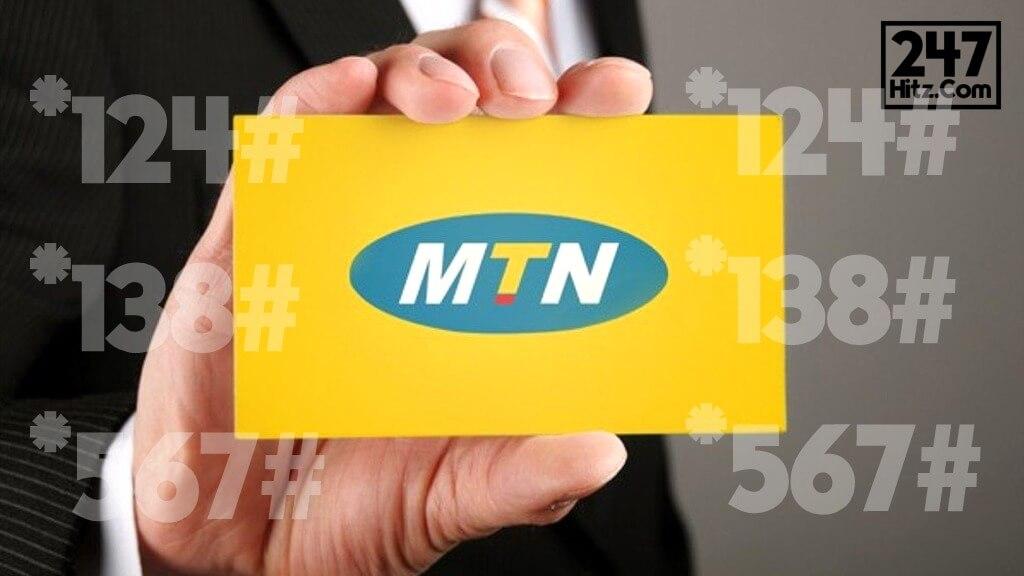 Full List of MTN Ghana Short Codes 2020