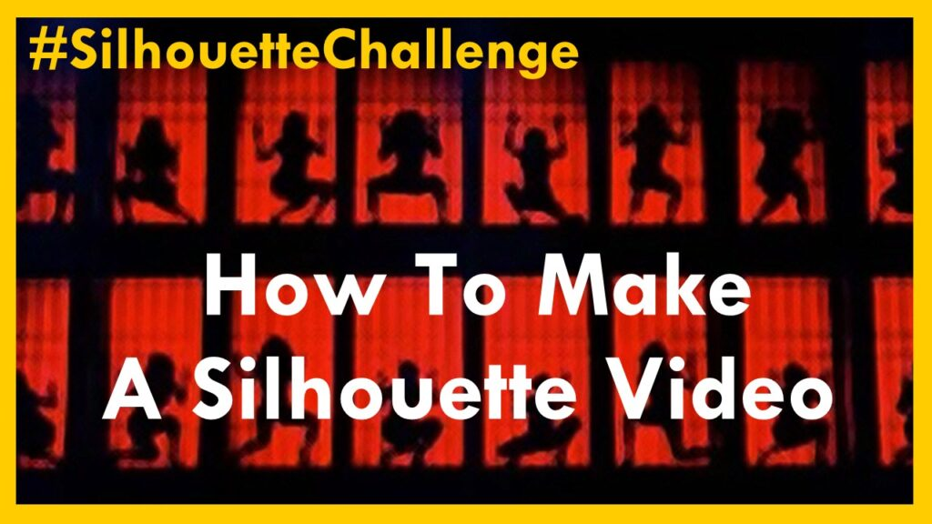 How to Professionally Create Your Silhouette Challenge Video
